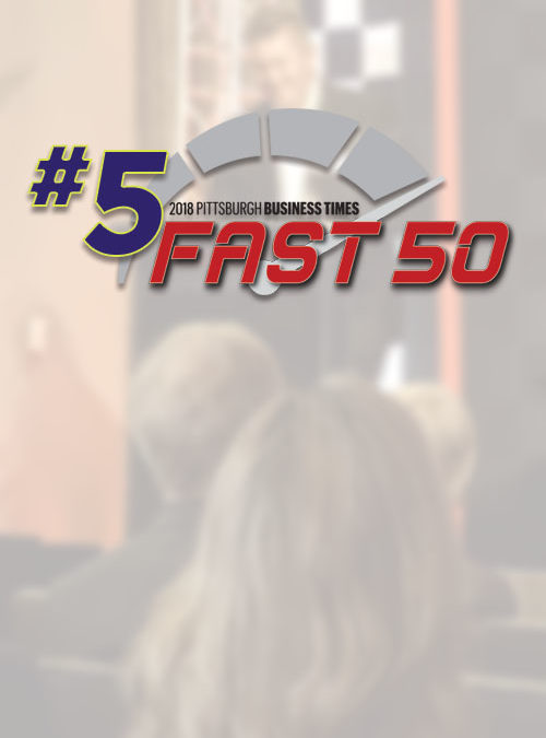 ELITE 5th In Pittsburgh Business Times Fast 50